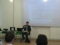 Member of CEC, Mr. Grozdan Karadjov took part in the training seminar for independent observers