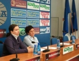 Press-conference of the IPED - 31th of January, 2014